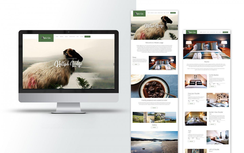 Hillside Lodge - Redesign Website — kraftundadel