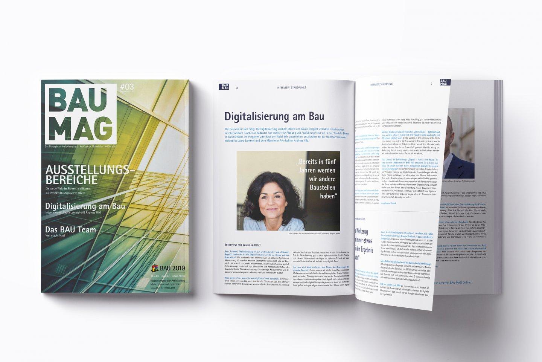 BAU – das Magazin   — kraftundadel
