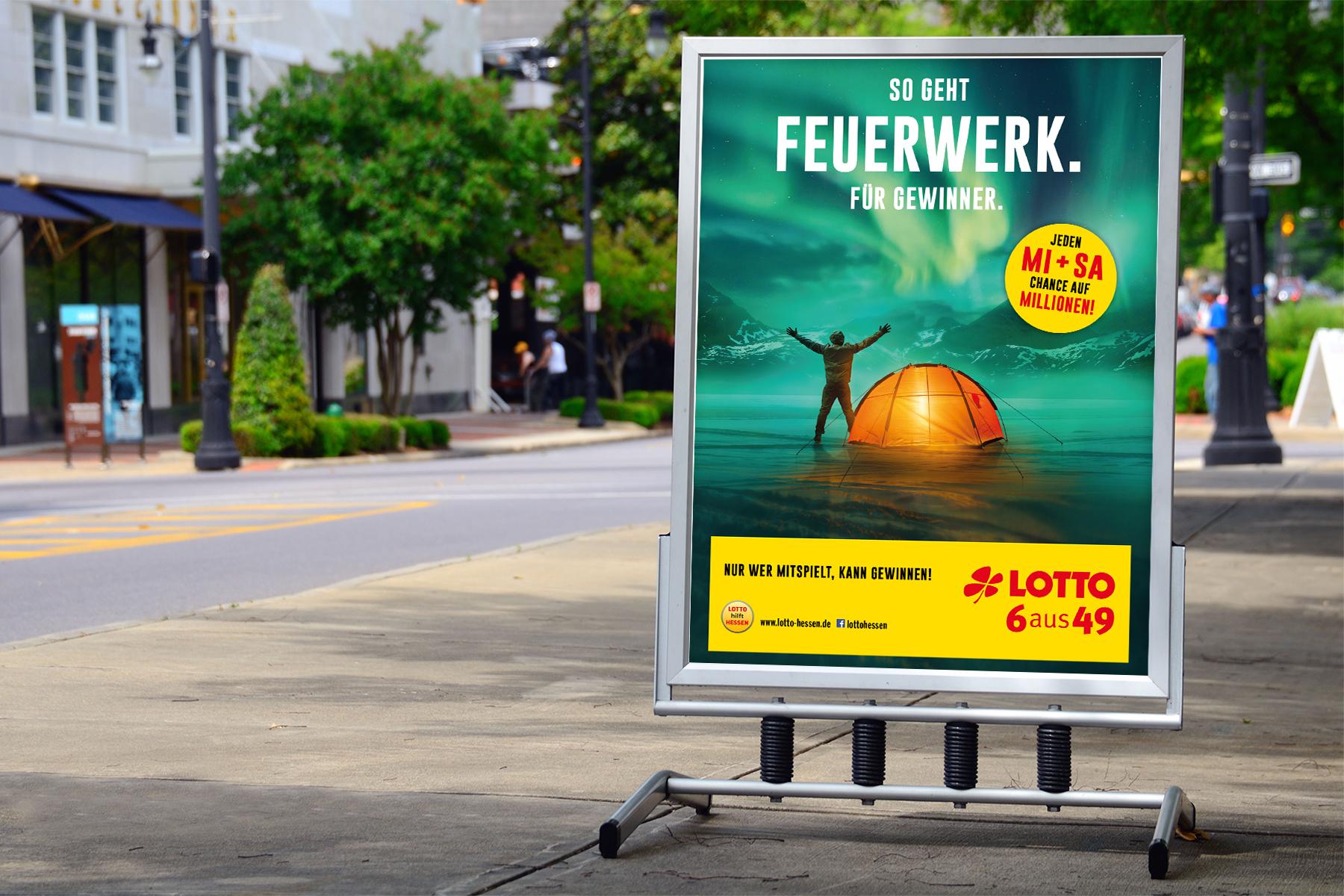 LOTTO Hessen Imagekampagne — kraftundadel